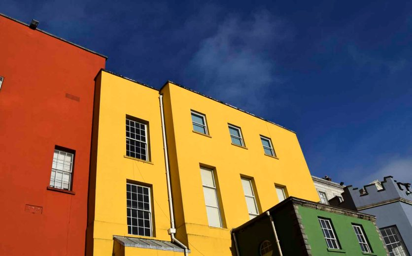 Dublin Castle Colour Blocks